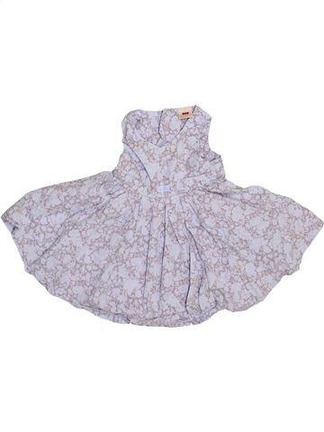 Robe fille 3 POMMES violet 6 mois été #1348367_1