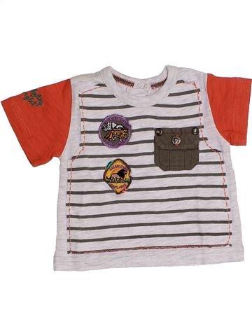 Camiseta de manga corta niño CHICCO blanco 3 meses verano #1348765_1