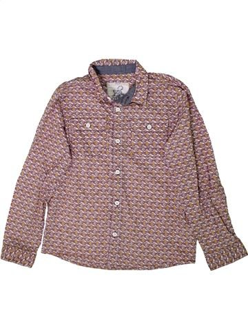 Chemise manches longues garçon MONSOON violet 10 ans hiver #1349047_1