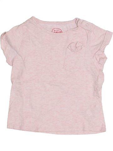 T-shirt manches courtes fille SERGENT MAJOR violet 3 mois été #1349164_1