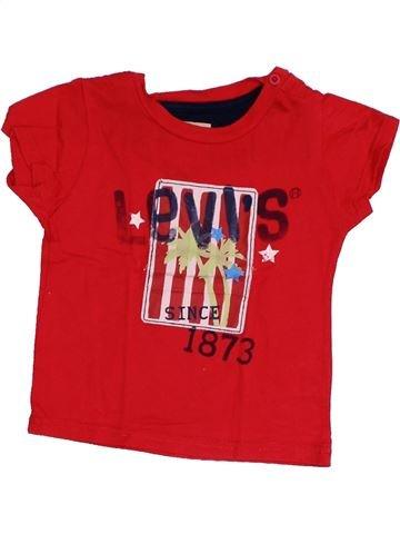 Camiseta de manga corta niño LEVI'S rojo 18 meses verano #1349484_1