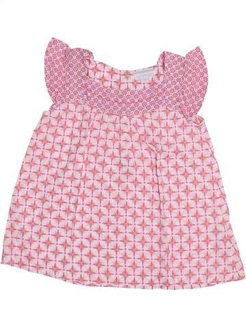 Blusa de manga corta niña KIMBALOO rosa 3 años verano #1349740_1