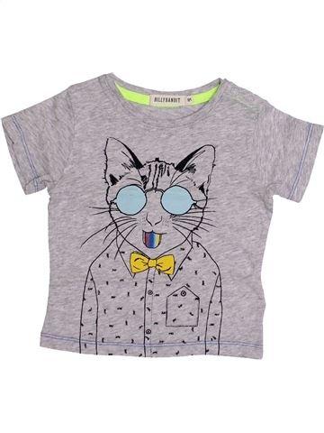 T-shirt manches courtes garçon BILLYBANDIT gris 6 mois été #1349829_1