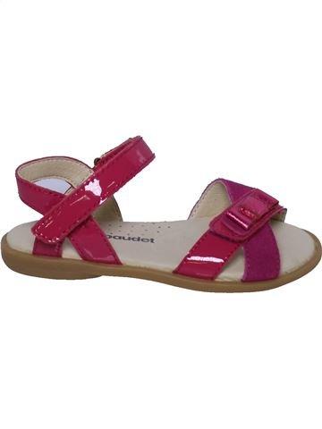 Sandalias niña VERTBAUDET violeta 24 verano #1349849_1