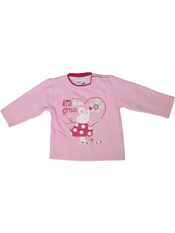 Sweat fille ERGEE rose 2 ans hiver #1350660_1