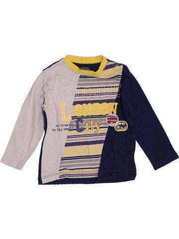 T-shirt manches longues garçon LA COMPAGNIE DES PETITS noir 2 ans hiver #1351249_1