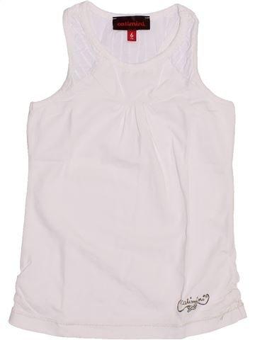 Camiseta sin mangas niña CATIMINI blanco 6 años verano #1351287_1
