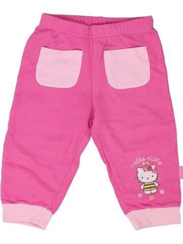 Pantalon fille HELLO KITTY rose 18 mois été #1351317_1
