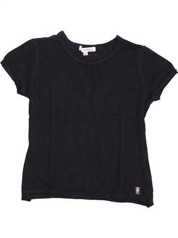 T-shirt manches courtes fille CONFETTI bleu foncé 6 ans été #1351412_1