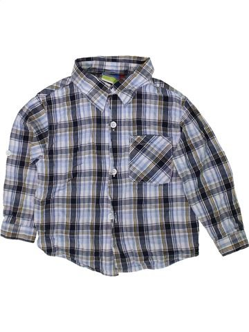Chemise manches longues garçon TOPOLINO gris 2 ans hiver #1351534_1