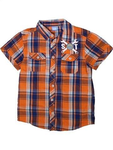 Chemise manches courtes garçon KIDS marron 8 ans été #1352380_1