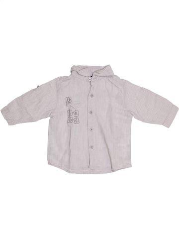 Camisa de manga larga niño TOUT COMPTE FAIT blanco 6 meses invierno #1352558_1