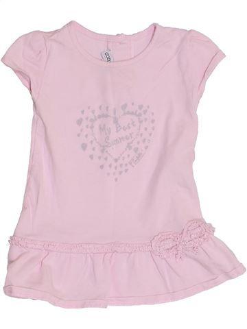 Vestido niña CONFETTI rosa 6 meses verano #1352615_1