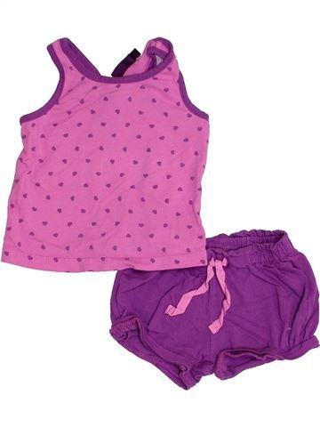 Conjunto niña SERGENT MAJOR violeta 9 meses invierno #1352617_1