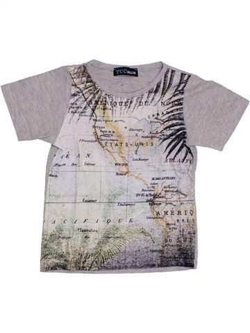 T-shirt manches courtes garçon YCC-214 gris 4 ans été #1352923_1