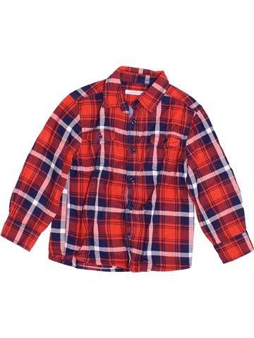 Camisa de manga larga niño MONOPRIX violeta 4 años invierno #1353003_1