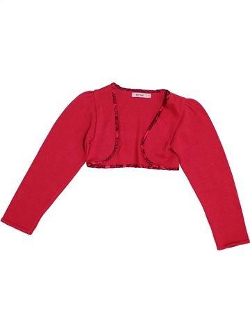 Boléro fille CLAYEUX rouge 8 ans hiver #1353091_1