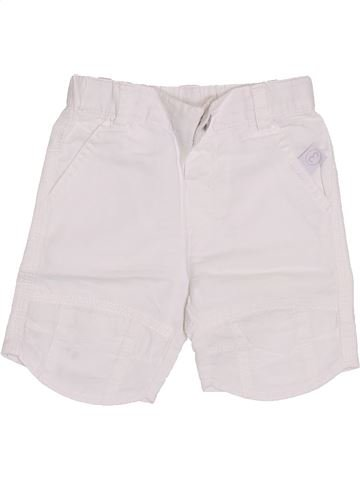 Short-Bermudas niño 3 POMMES blanco 6 meses verano #1353478_1