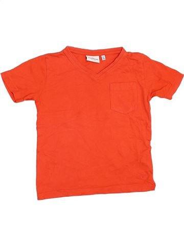 T-shirt manches courtes garçon TOM TAILOR rouge 3 ans été #1353762_1