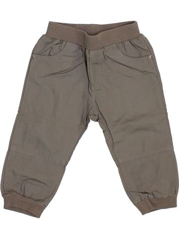 Pantalon garçon P'TIT BISOU gris 6 mois été #1353843_1