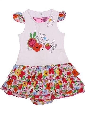 Vestido niña CATIMINI blanco 2 años verano #1353974_1