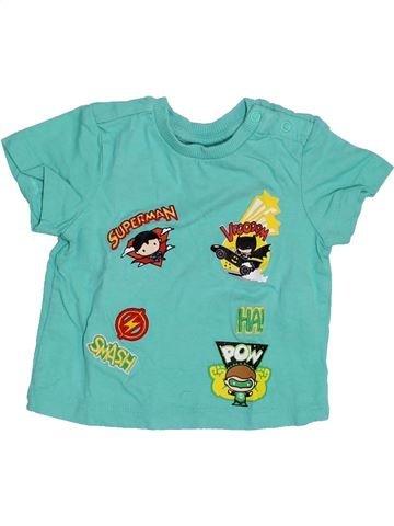 Camiseta de manga corta niño SUPERS HÉROS azul 3 meses verano #1353996_1