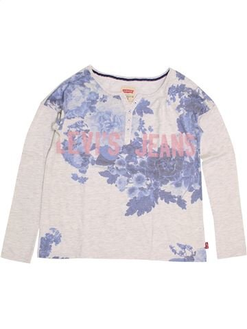 T-shirt manches longues garçon LEVI'S blanc 14 ans hiver #1354155_1
