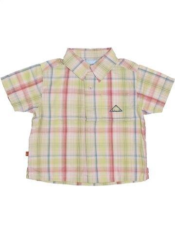 Chemise manches courtes garçon OKAIDI blanc 18 mois été #1354242_1