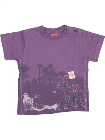 Camiseta de manga corta niño MARÈSE violeta 2 años verano #1354589_1
