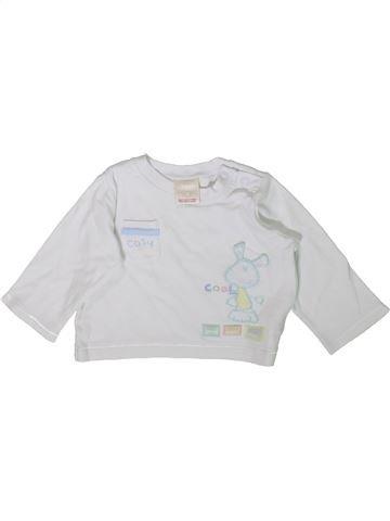 T-shirt manches longues garçon MORRIS MOUSE blanc 6 mois hiver #1355591_1