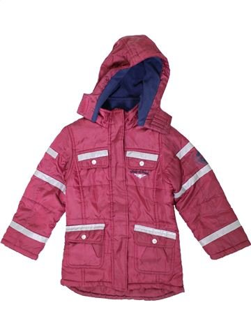 Manteau fille PEPPERTS rose 7 ans hiver #1355794_1