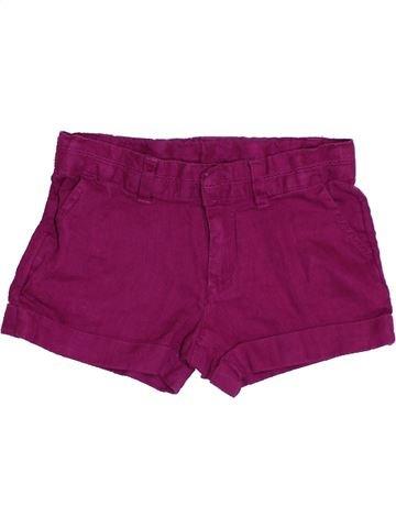 Short-Bermudas niña MONOPRIX violeta 3 años verano #1356299_1