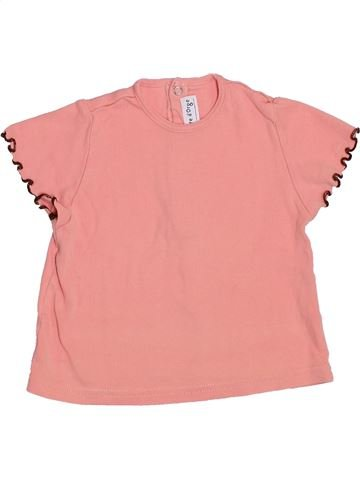 Camiseta de manga corta niña SUCRE D'ORGE rosa 18 meses verano #1356491_1