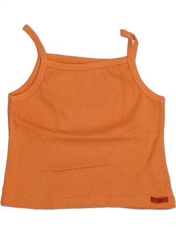 T-shirt sans manches fille ALPHABET orange 4 ans été #1356544_1