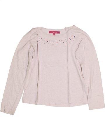 Camiseta de manga larga niña LISA ROSE blanco 8 años invierno #1356771_1