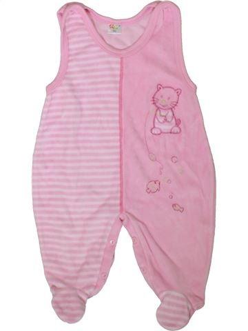 Pijama de 1 pieza niña KLY rosa 2 años invierno #1357330_1