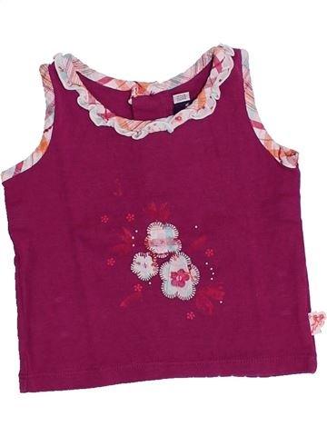 T-shirt sans manches fille SERGENT MAJOR violet 6 mois été #1357808_1