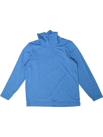 T-shirt col roulé garçon CRANE bleu 6 ans hiver #1357988_1
