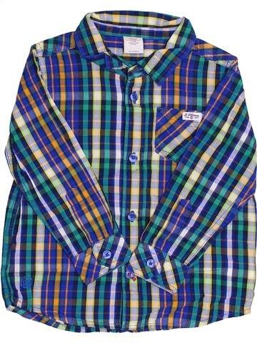 Chemise manches longues garçon S.OLIVER bleu 2 ans hiver #1358115_1