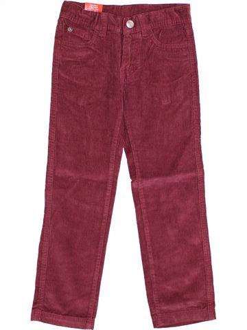 Pantalon garçon SANS MARQUE marron 4 ans hiver #1358285_1