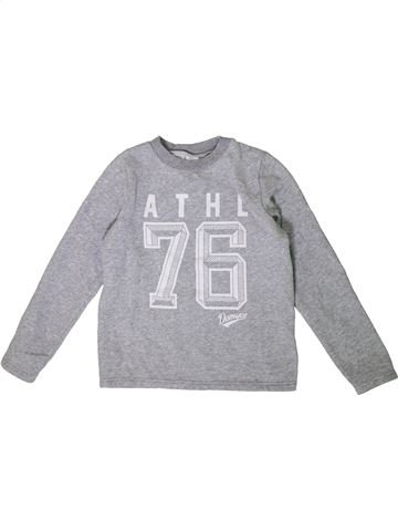Sweat fille OXYLANE gris 10 ans hiver #1358660_1