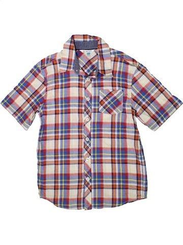 Chemise manches courtes garçon JOHN LEWIS gris 11 ans été #1359100_1