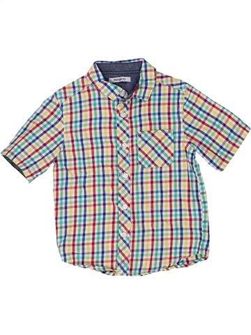 Chemise manches courtes garçon PEP&CO blanc 3 ans été #1359101_1