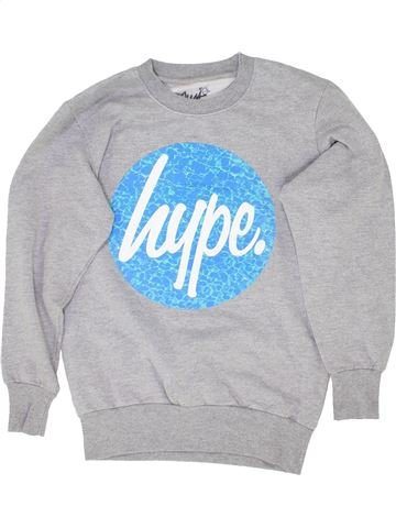 Sweat fille HYPE KIDS gris 12 ans hiver #1359211_1