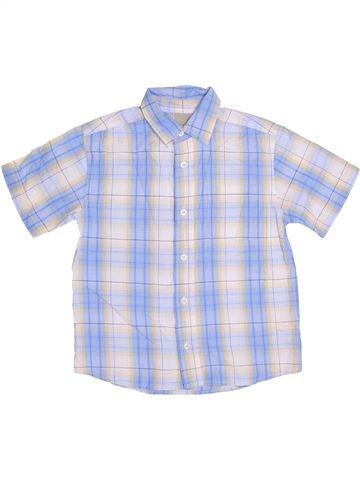 Chemise manches courtes garçon CHEROKEE blanc 9 ans été #1359253_1