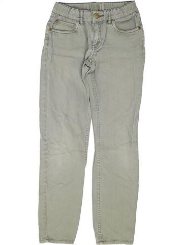 Pantalon fille SANS MARQUE gris 10 ans été #1359403_1