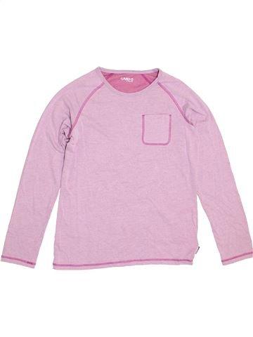 T-shirt manches longues garçon JAKO-O rose 13 ans hiver #1359740_1