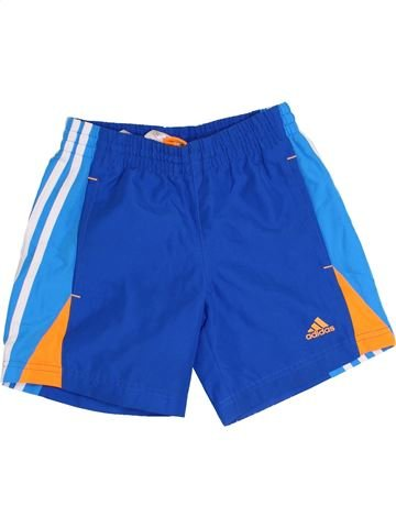 Pantalon corto deportivos niño ADIDAS azul 8 años verano #1359835_1