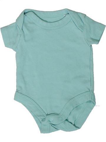 T-shirt manches courtes garçon LILY & DAN bleu naissance été #1360058_1