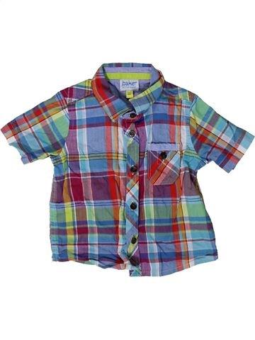 T-shirt manches courtes garçon TED BAKER bleu 6 mois été #1360172_1